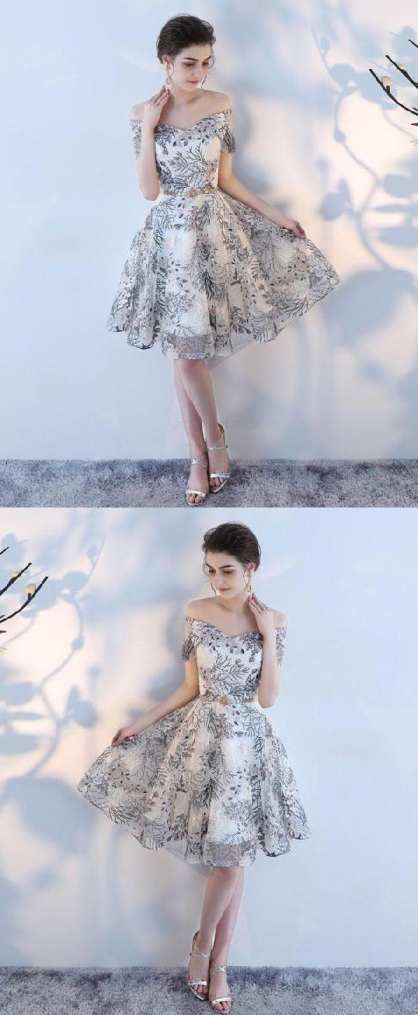 Vogue Cute Prom Dresses Prom Dresses A Line Short Prom Dresses With Images Cute Prom