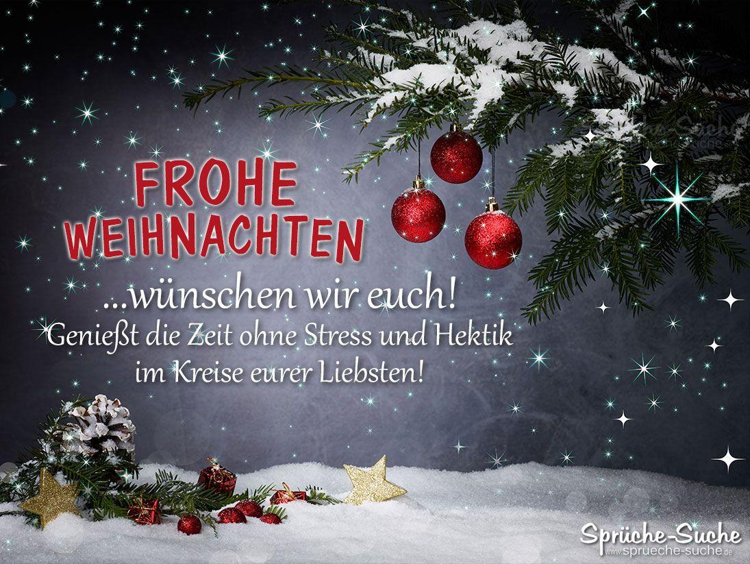 Frohe Weihnachten Wünsche an Familie - Sprüche-Suche