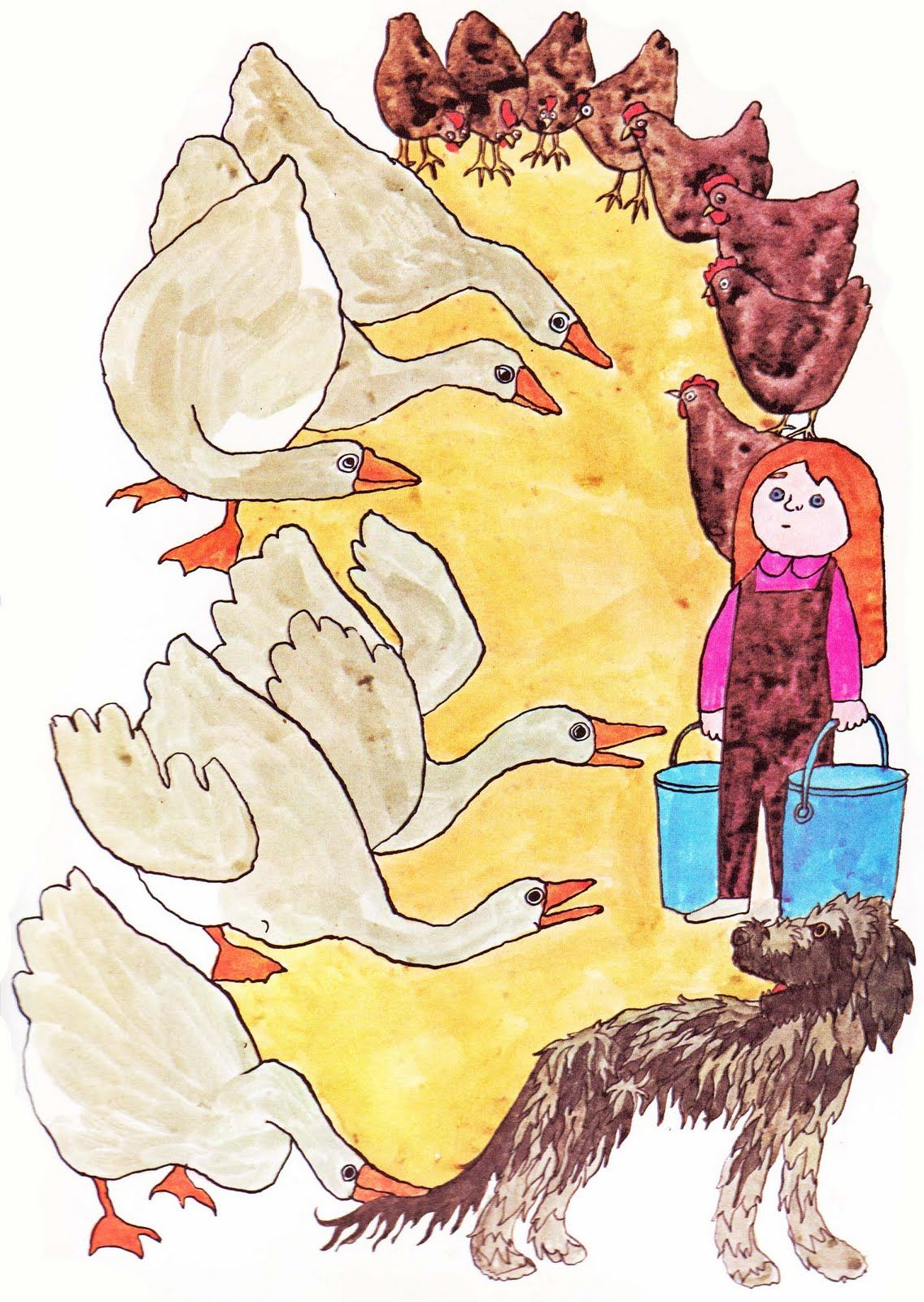 Vintage Kids' Books My Kid Loves: Our Animal Friends at Maple Hill Farm
