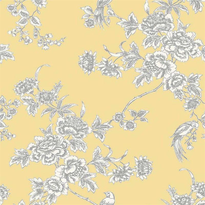 Find Graham & Brown Wild Flower Soft Yellow Wallpaper at