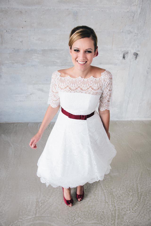Brautkleid standesamt petticoat