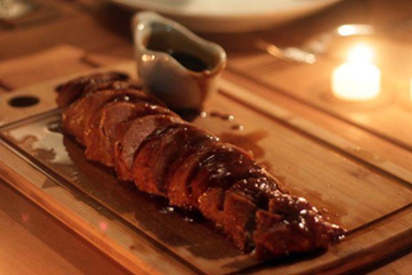 Receita de Filé de Porco ao Shoyu, Mel e Laranja , Delicioso e fácil de fazer! Aprenda a Receita!