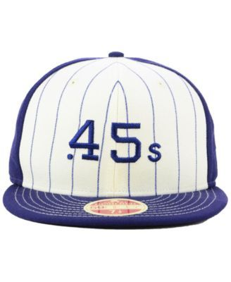 f522fd16bf7 New Era Houston Colt 45s Vintage Front 59FIFTY Fitted Cap - White 7 ...