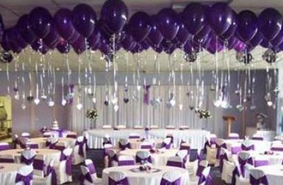 Wedding balloon decorations balloon arches using for Balloon decoration for wedding reception