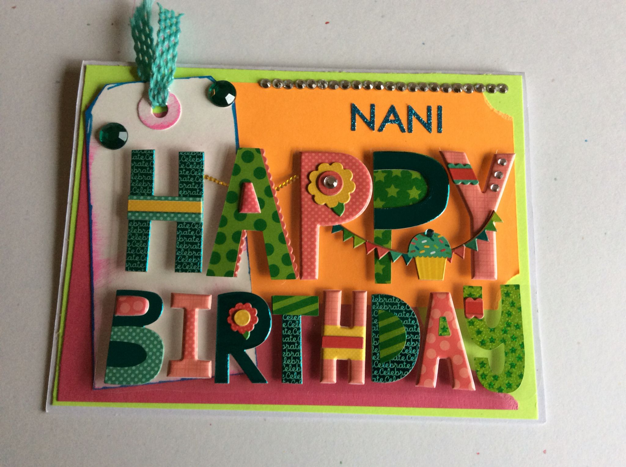 Simple And Fun Happy Birthday Card To Nani Happy Birthday Is