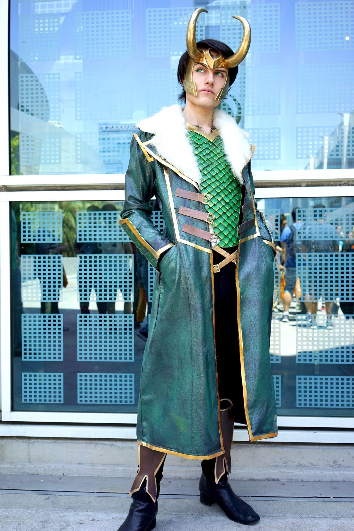 Aicosu Loki Cosplay Loki Costume Amazing Cosplay