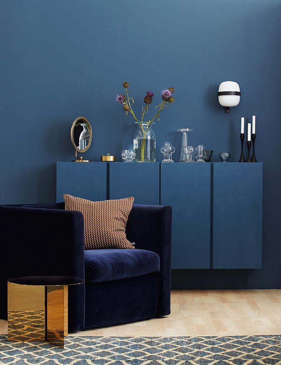 5 billiga knep som sätter guldkant på ditt hem blue painted