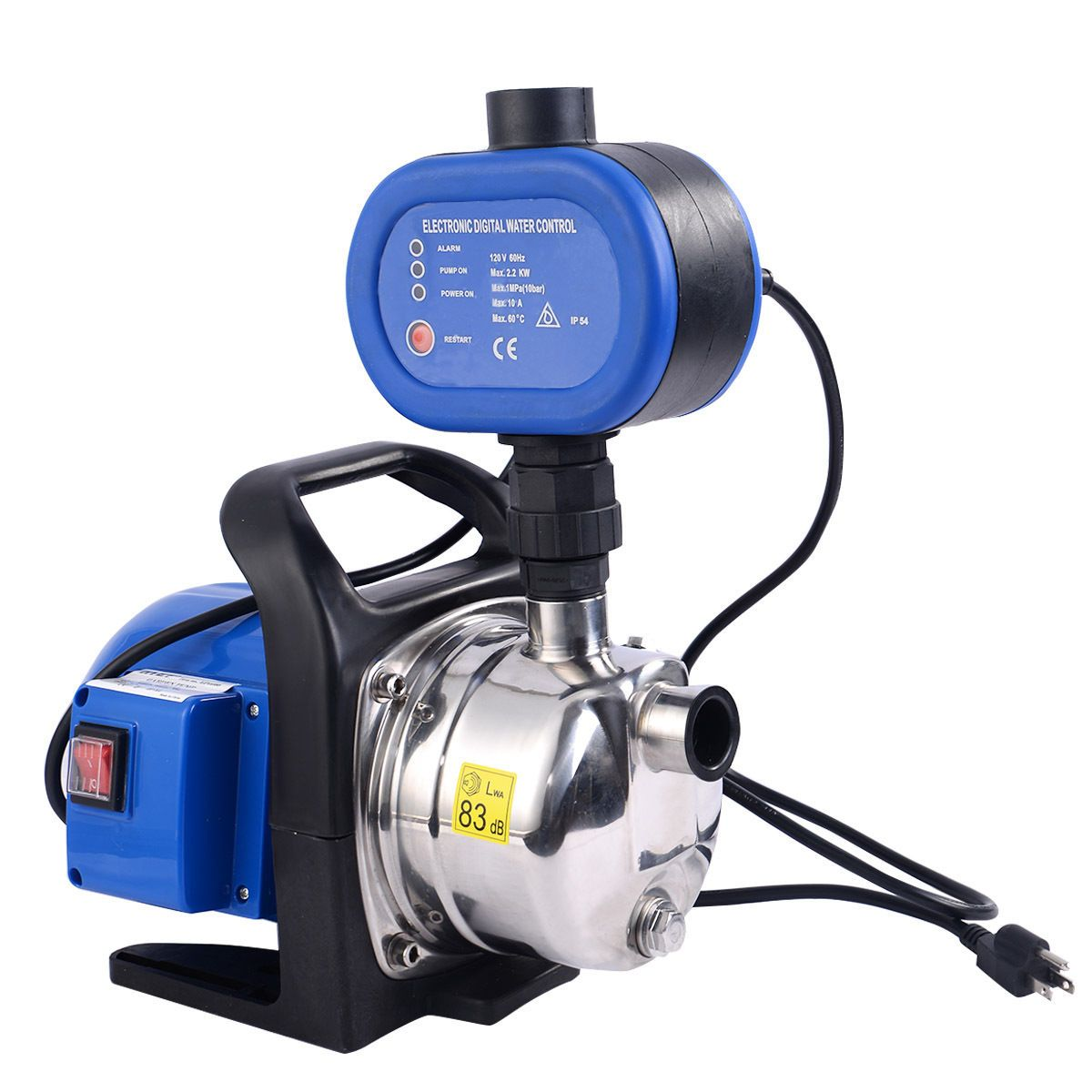 Goplus 1200w garden water pump shallow well electric for Garden water pump
