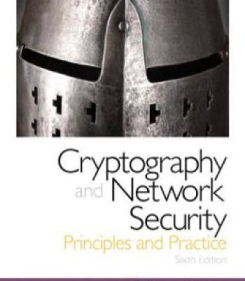 Cryptography and network security by behrouz a. Forouzan.
