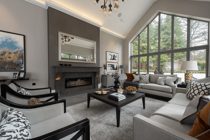 What Kinds Of Gray Living Rooms Work In Every Style Of Home Modern Grey Living Room Living Room Grey Living Room Decor Gray