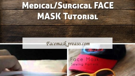 Photo of Face Mask Pattern – Free Sewing Patter • Craft Passion