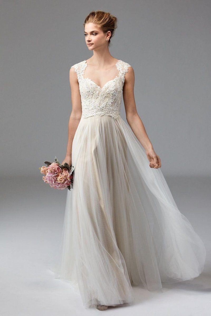 Watters Wedding Dress Calanthe. Femininity at its finest, Calanthe ...