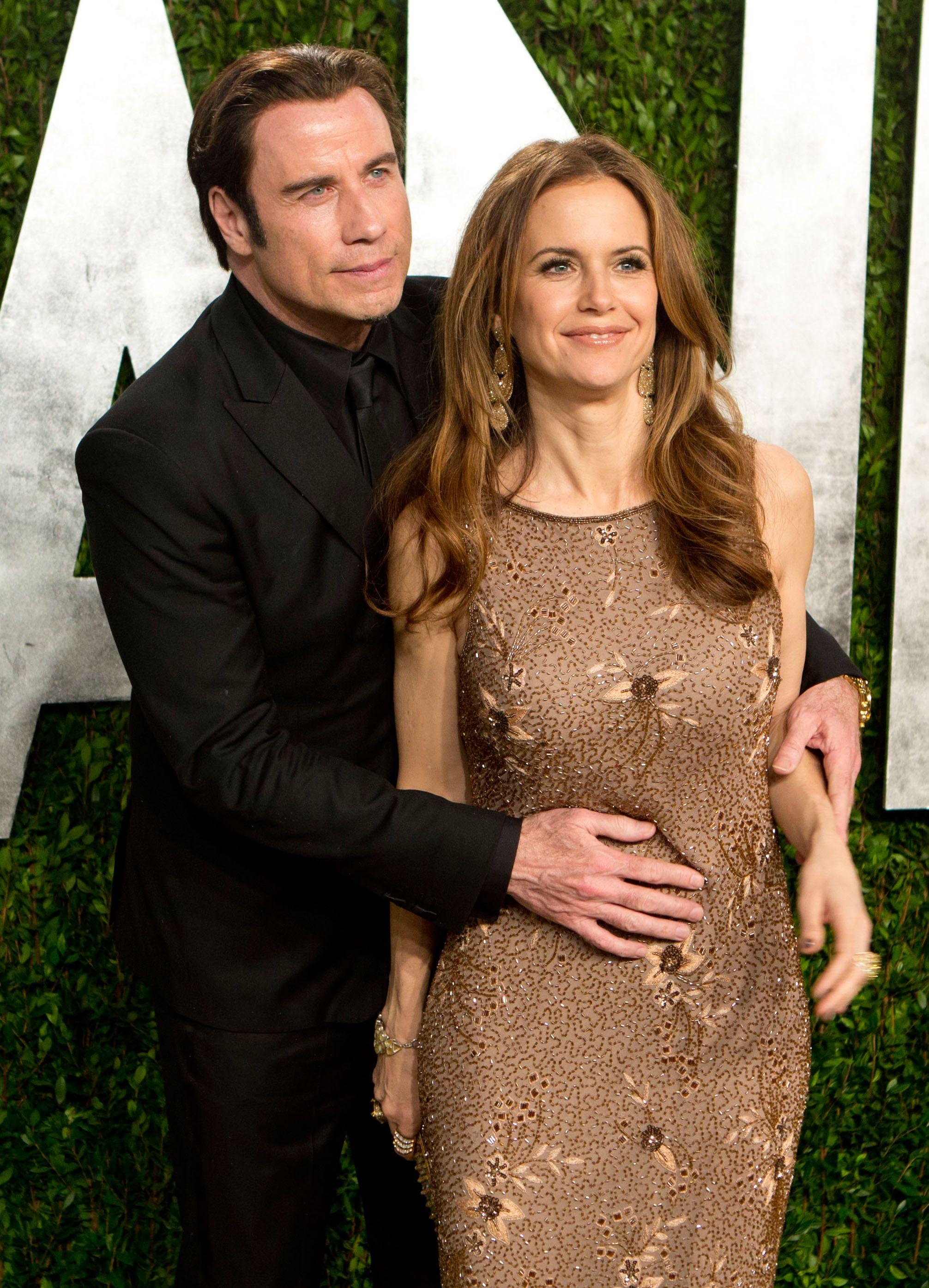 john travolta with wife - Google Search | Celebrity couples, John ...