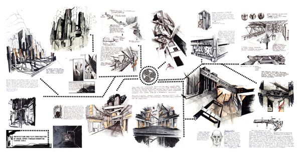 Wonderful Thesis Project: Architecture And Film : Construction Of Visual Space  Through Narrative