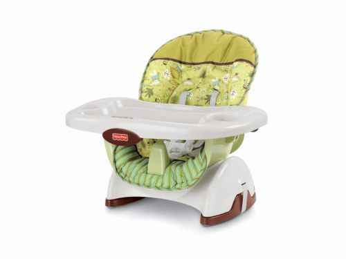 New Fisher Price Space Saver Adjustable Compact High Chair Infant Seat Booster | eBay