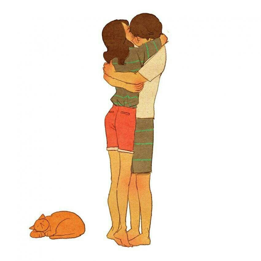 Pin by Carrie Wyatt on Must Love Hugs Illustration   Love ...