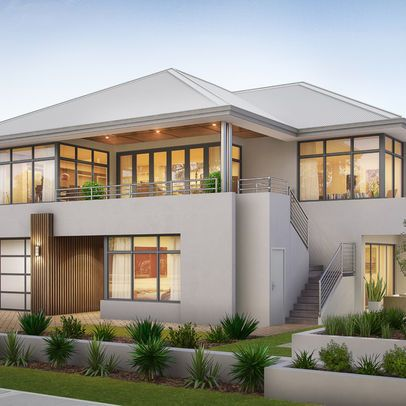 Colours living area storey house design two plans modern also hse june pinterest rh