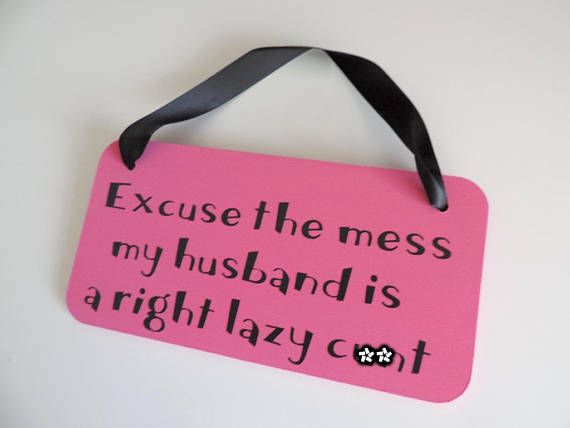 Signs of a lazy husband