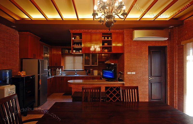 Dining Room Kitchen Design Contemporary House Architecture Batangas Quezon Bataan Philippines