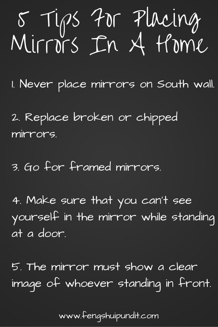 5 dead simple tips for ideal placement of mirrors in your ...