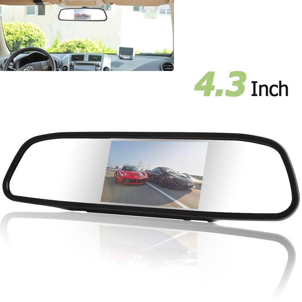 CAR HORIZON 4.3 Inch Color TFT LCD Parking Car Rear View Mirror ...