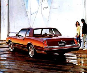 1981 Chevrolet Monte Carlo Landau Chevrolet Monte Carlo