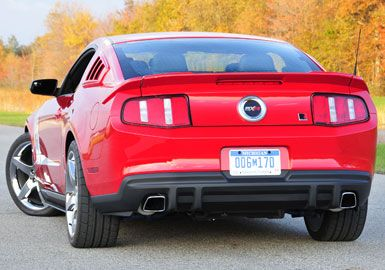 Roush Exhaust With Square Tips And Rear Valance Mustang Exhaust My Dream Car Mustang