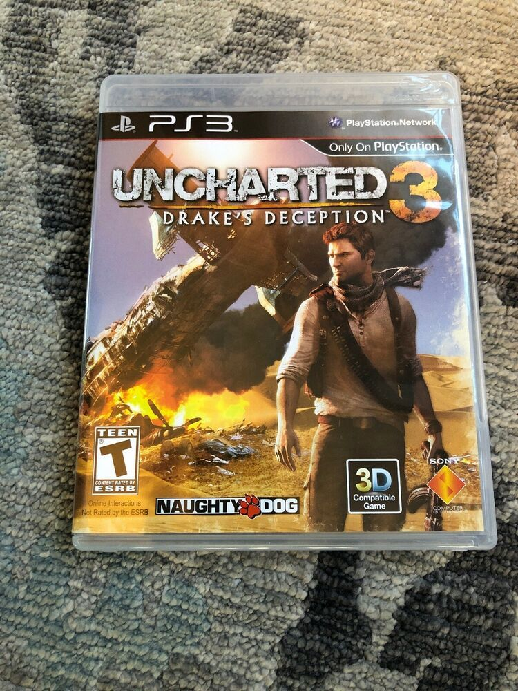 Uncharted 3 Drake S Deception Sony Playstation 3 2011 Ps4