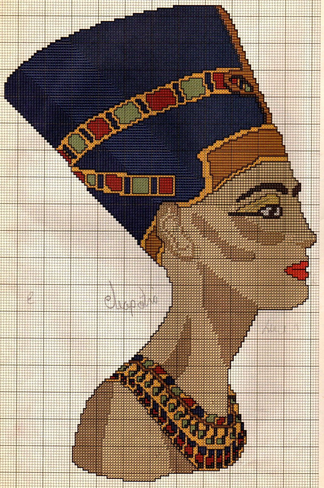 ENCANTOS EM PONTO CRUZ: Egípcio | In Stitches: Egyptian | Pinterest ...