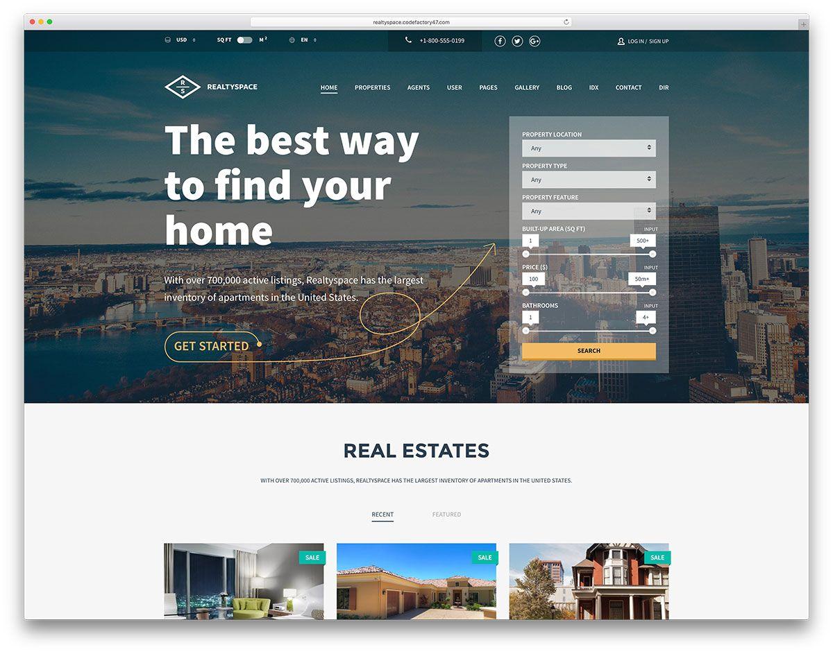 Pin by DAT BLOG on Template para Imobiliário, agências, consultores ...