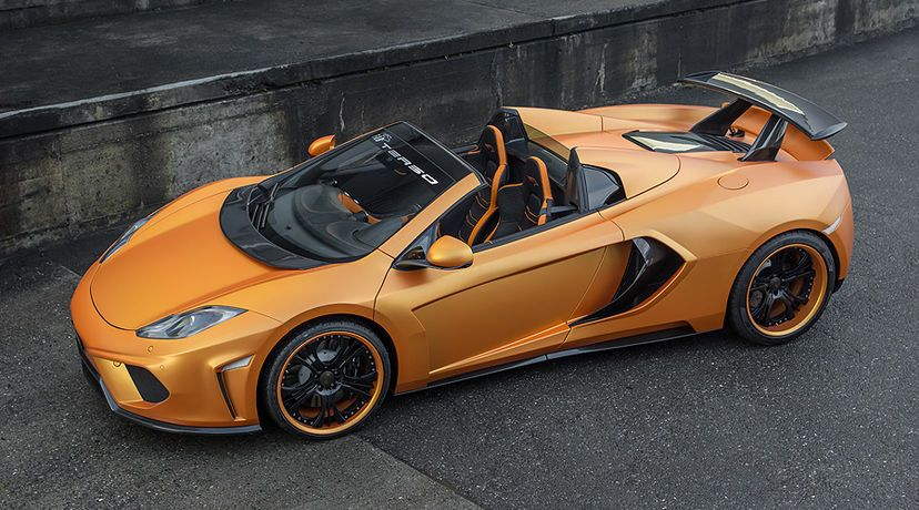 Fab Design Mclaren Spyder Terso Body Kit Supercar Body