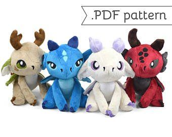 c2e04dd99f2ac Fox and Hare Chibi Plush Sewing Pattern .pdf Tutorial | Josie ...