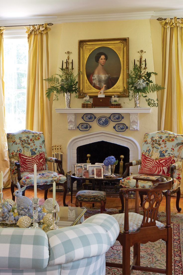 Decorating A Room Online: French Country Living Room