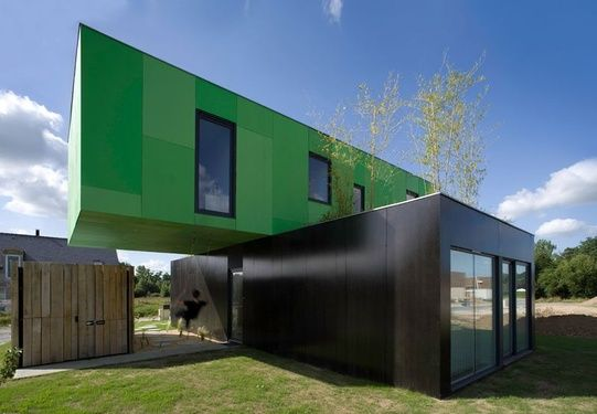modern shipping container home eco friendly crossbox house by cg architectes