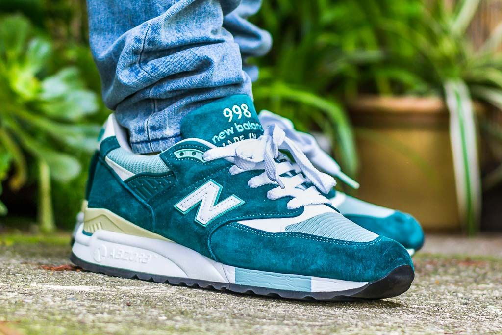 New Balance 998 On Feet Sneaker Review