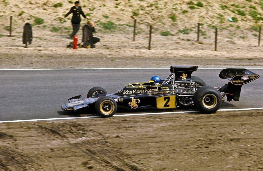 Bengt Ronnie Peterson (SWE) (John Player Team Lotus), Lotus 72E - Ford-Cosworth DFV 3.0 V8 (finished 11th) 1973 Dutch Grand Prix, Circuit Zandvoort