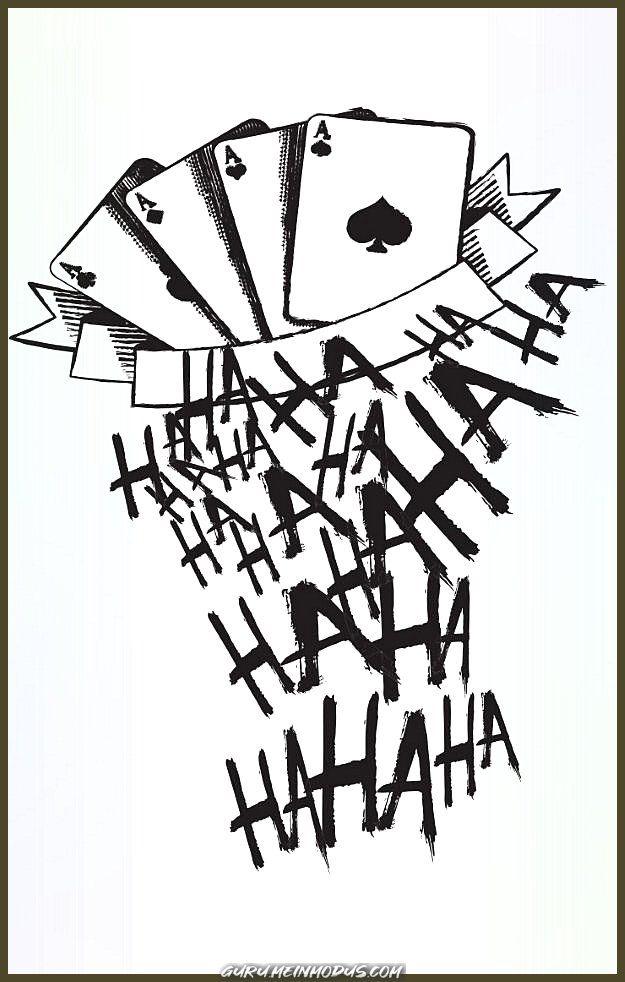50 Verruckte Joker Tattoos Designs Und Ideen 6 12