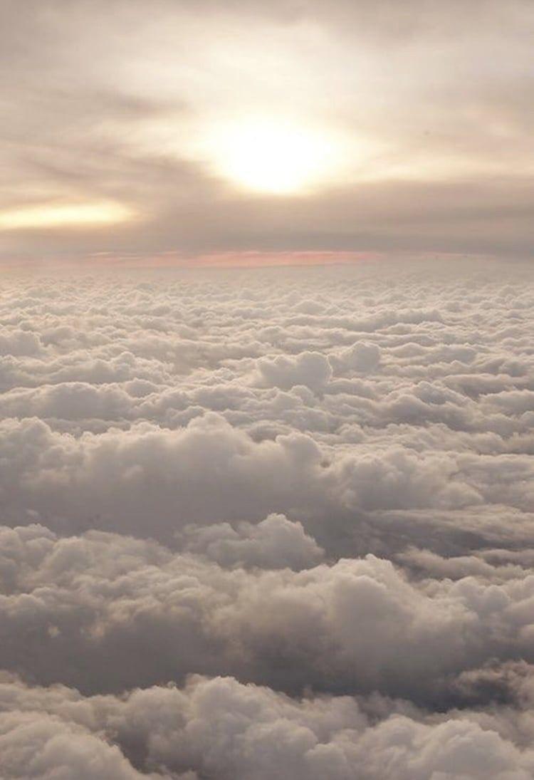 Sky Imagens Lockscreens Aesthetically Simplicity Clouds
