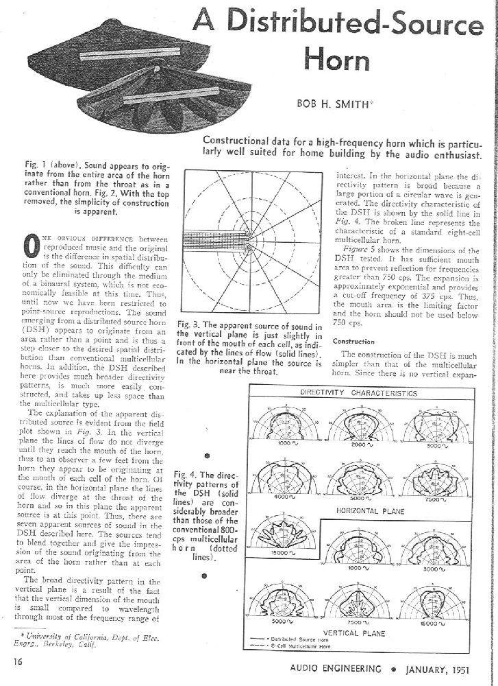 DIY 500Hz Smith Horn? Please help me design one