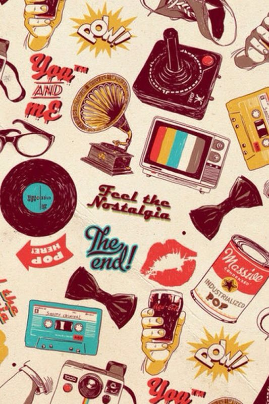 Pin By Yasmin On Iphone Wallpapers Retro Wallpaper Iphone