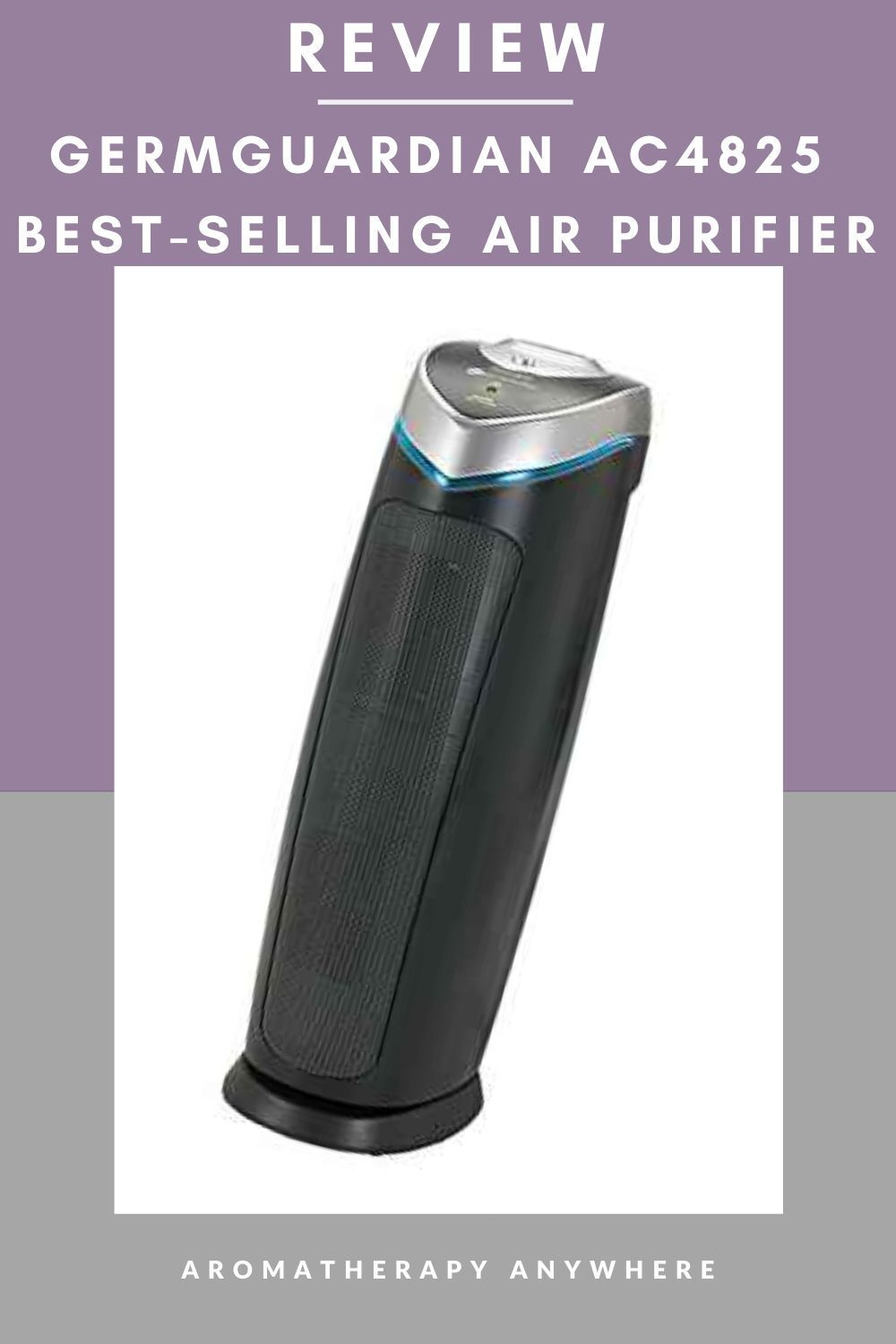 Germguardian Ac4825 Air Purifier Review Aromatherapy Anywhere In 2020 Air Purifier Essential Oil Diffuser Reviews Air Purifier Reviews