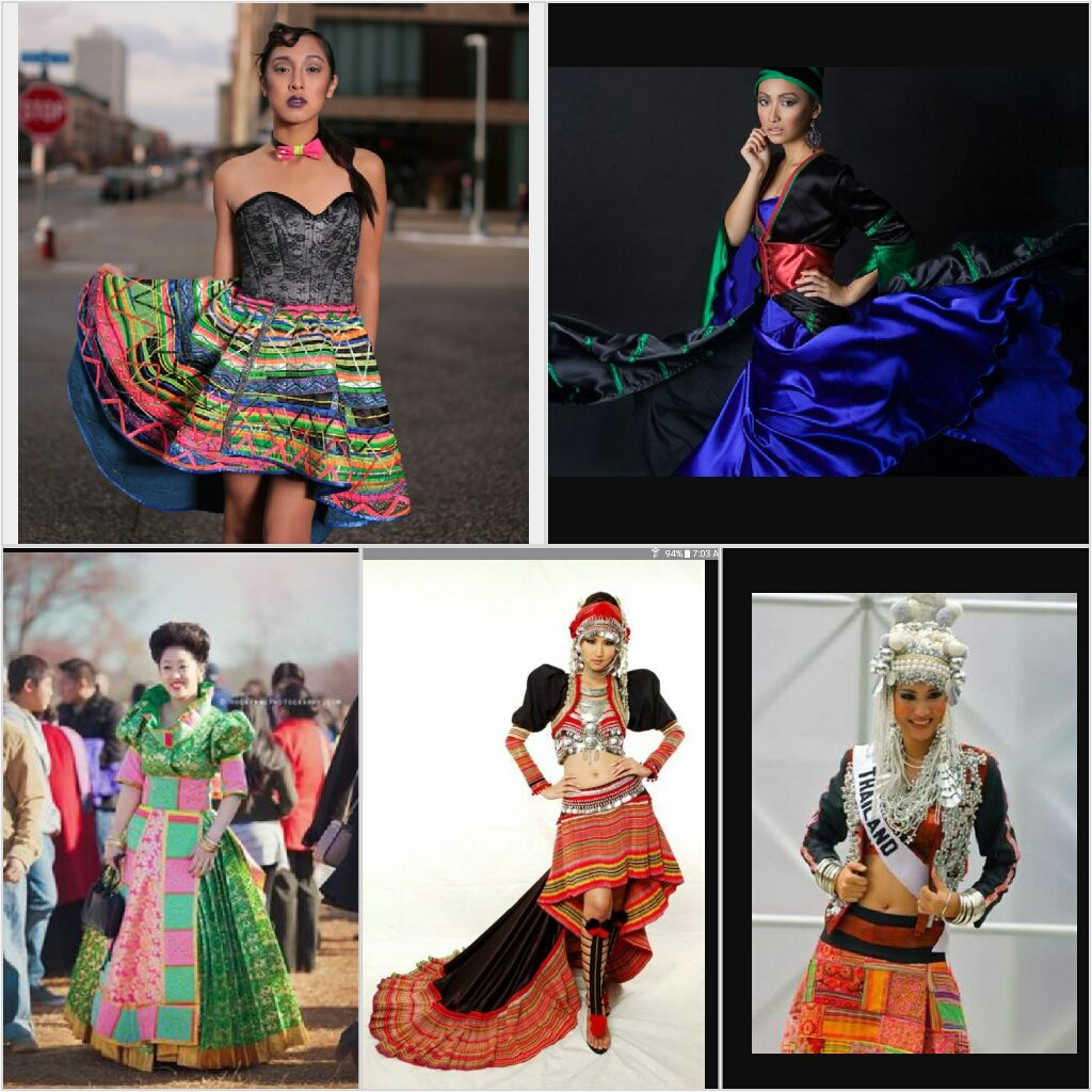 From Websites About Modern Hmong Fashion And Runway