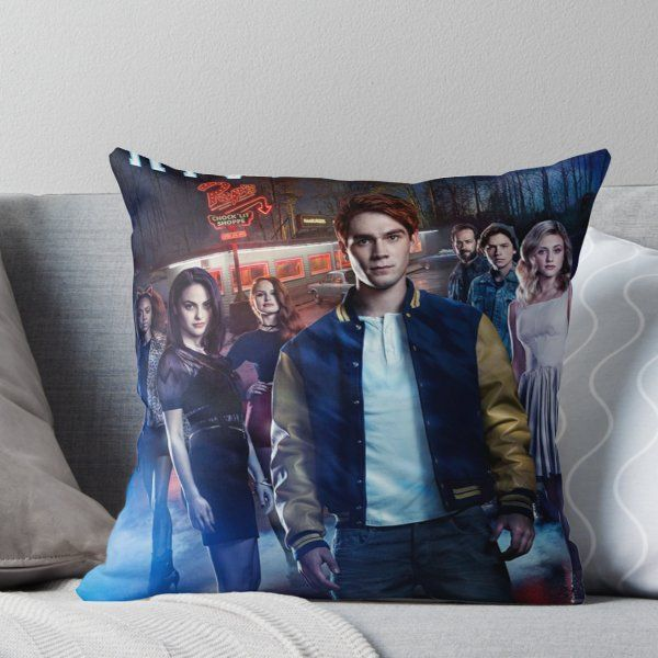 Riverdale Throw Pillow By Girlsbiteback In 2019 Products