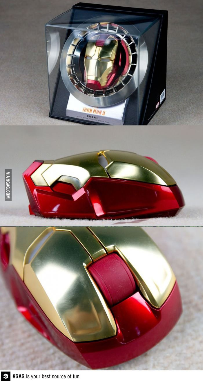 f84adf9fd26 Iron Man mouse | Don't Freak Out, Geek Out | Iron man, Fandom ...