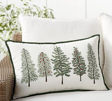 Forest Tree Lumbar Indoor Outdoor Pillow Pillows Diy