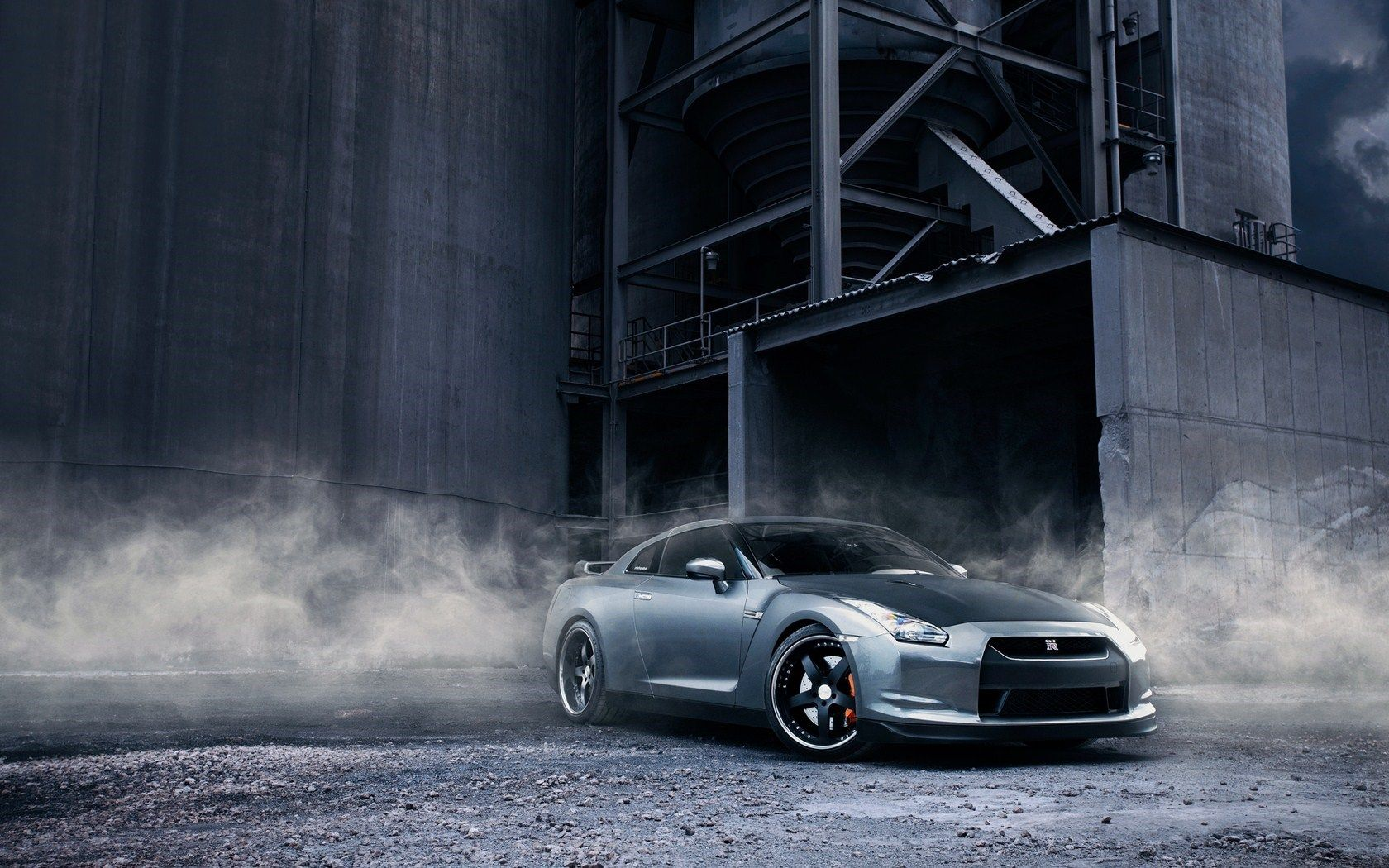 Nissan Skyline Gtr R Car White Wallpaper X