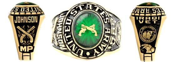 military rings for all branches of the armed forces free shipping