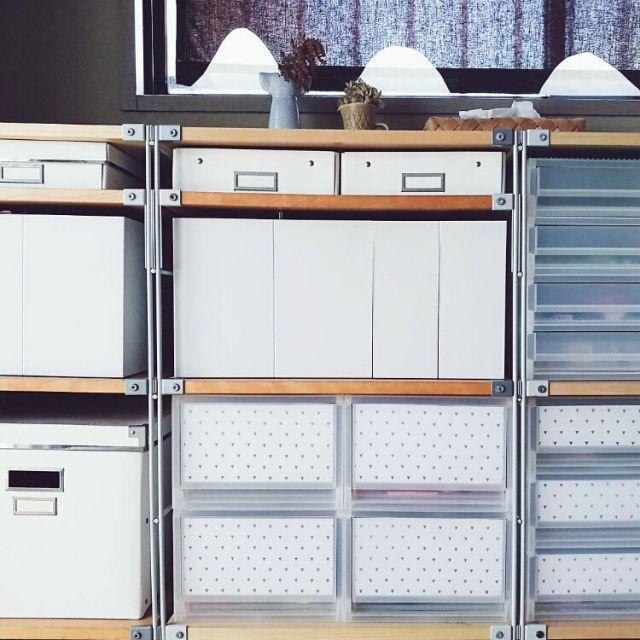無印良品 | スチールユニットシェルフ用・ボックス・ガラス引き戸・オーク材幅84.5×奥行38×高さ37cm 通販