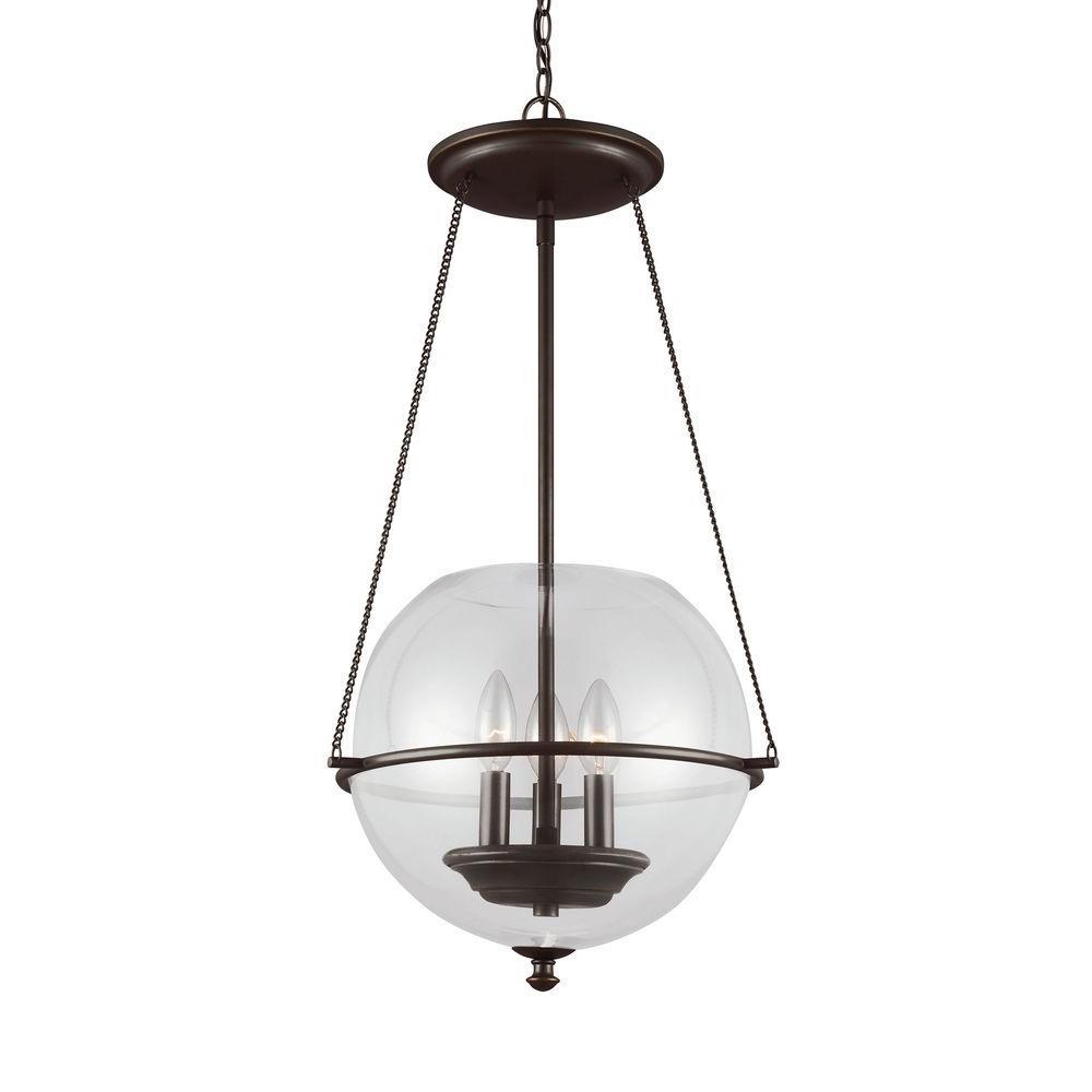 Sea gull lighting havenwood light autumn bronze indoor pendant