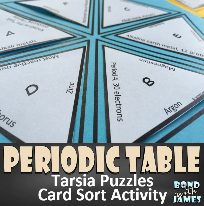 Periodic Table Tarsia Puzzles Periodic table, Worksheets and Students - best of periodic table of elements group names